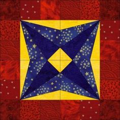 Dad's Favorite Star Block - and lots of other free block patterns too!