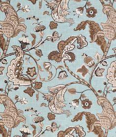 Covington Wilmington Robin's Egg Fabric - $7.95 | onlinefabricstore.net Placemats