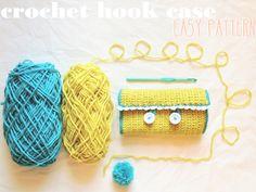 gypsybeee [theblog]: DIY crochet hook case!