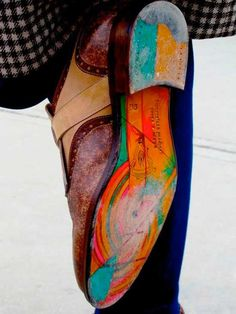 Geographical Map Shoe Sole #productdesign #creative #accessories #products #shoes