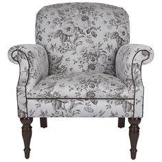 Buy John Lewis Donna Armchair, Floral in Silver Online at johnlewis.com lewi donna, bedroom mood, buy john, silver onlin, donna armchair, johnlewiscom, cream bedroom, armchairs, john lewis