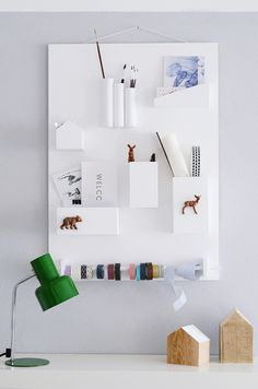 DIY: wall organiser
