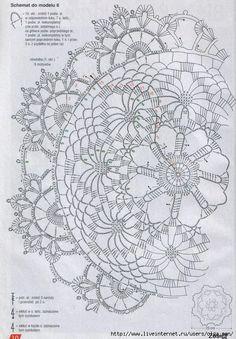 Diagram for Spokes Doily