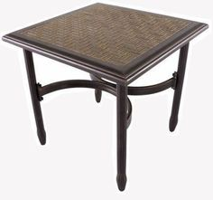 Tile Top Patio Table on Pinterest