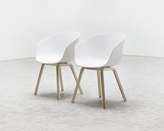 Copenhagen brand Hay's About a Chair 22. I like the simplicity and the choice of materials. Clear and subtle.
