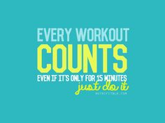 Every workout counts!  Put in 12 weeks worth of workouts and see how much you change :)  #workouts #skinnyms #transformation #ebook