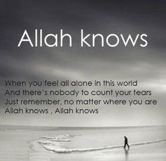 <3 Allah knows
