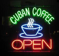Cuban coffee = yum