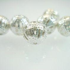 Silver Metal Jewelry Filigree Beads - Spoil Me Silly Jewellery