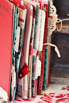 Christmas Scrapbook.