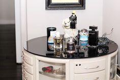 glasses, closets, makeup, vanities, dream hous, islands, dressers, vanity tables, people