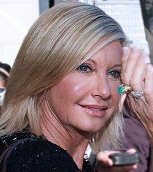 Olivia Newton-John breast cancer survivor.