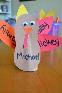 Toilet Paper Roll Turkeys