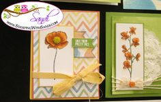Stampin Up Happy Watercolors www.stampingwithsandi.com