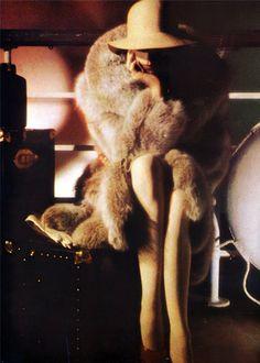 Yves Saint Laurent Fur