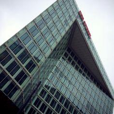 Beautiful building of 'Der Spiegel' in Hamburg