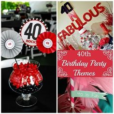 40th Birthday Party Themes | Spoonful