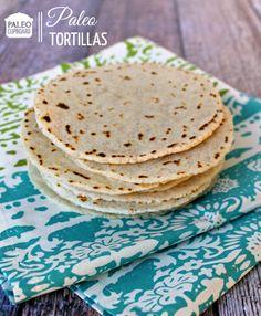 Easy Paleo Tortilla Recipe - www.paleocupboard.com