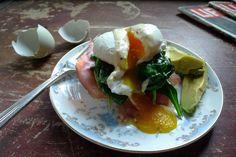 A Healthier Eggs Benedict & Finding Balance