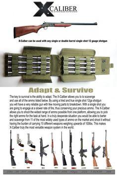 X-CALIBER Survival-Rifle Gauge Adapter System