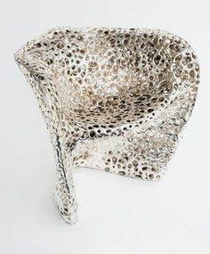 Cellular Chair, 2011, by Mathias Bengtsson