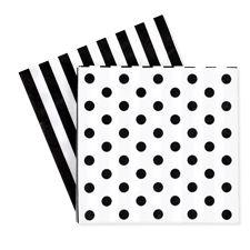 tie napkin, black napkin, napkins, party supplies, parties, adult parti, tie parti, parti napkin, black tie