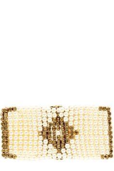 Pattern Pearl Cuff