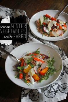 Warm Winter Vegetable Salad   Shutterbean