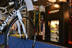 Vittoria shoes at the London Bike show