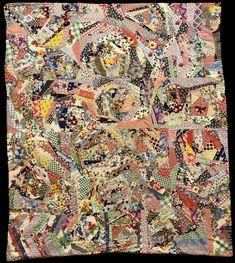 Quilt Index - Crazy Patch vintage Margaret Fraiser 1938