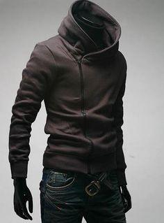 High neck hoodie htt