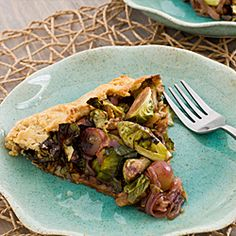 brussels sprout amp grape galette celebrate spring with this delicious ...