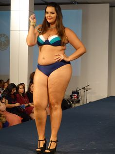 Cleo Fernandes, Brazillian plus size model.