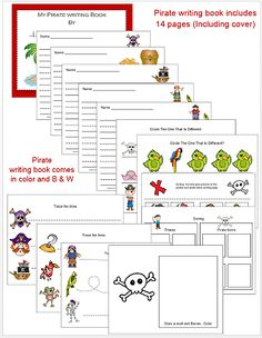 New file added to 1 - 2 - 3 Learn Curriculum.... Under the Pirates and Princess Link on the members site. Pirates Themed Uppercase and Lowercase cards. Also includes a Pirate Writing Book - you can use this file in book form, one for each child or print up pages and place in a Reusable Dry Erase Pockets, 9 x 12 Inches,place in writing center. Also includes Pirate vocabulary words to use in your writing center. Both in color and B & W. Thank you Jean 1 - 2 - 3 Learn Curriculum