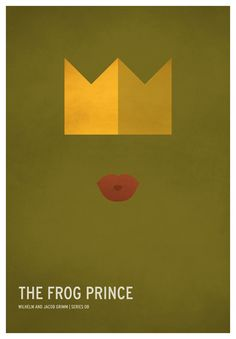 The Frog Prince   19 Minimalistic Posters Of Your Favorite Childhood Stories