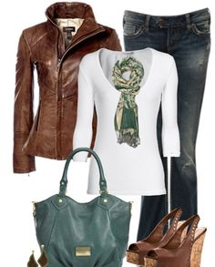 Leather fashion and design