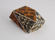 Tom Lauerman, Building Block, wood, ink, gouache, shellac, 2012