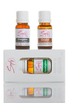 Immune Booster Package #3 Includes:  1 - Shield Essential Oil (Protective Blend) 10mL 1 - Eucalyptus Essential Oil 10mL 1 - Oregano Essential Oil 10mL