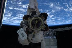 Q: How far will the trackable travel during it's 6 months on board the ISS?  A: Something between 70 and 82 million miles (112 and 133 million km).