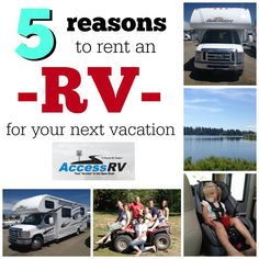 5 reasons to rent an RV for your next vacation on SixSistersStuff.com #travel #vacation