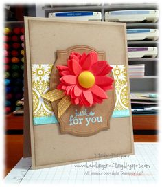 Pop up posies designer kit,  pool paty e mbossing powder, sycamore street DSP. Bada-Bing! Paper-Crafting!