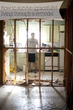 How to Gracefully Survive Living in a Remodel
