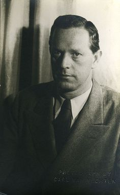 Author Erskine Caldwell, as photographed by Carl Van Vechten in 1934.