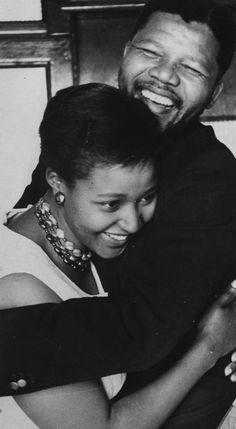 Nelson & Winnie Mandela.