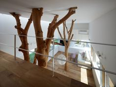 Garden Tree House - Hironaka Ogawa & Associates interior design, indoor tree, japanese architecture, garden trees, tree houses, treehous, hironaka ogawa, gardens, house extensions