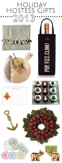 fabulous holiday hostess gifts // simplified bee  #hostess #gifts #holiday2013 #giftguide