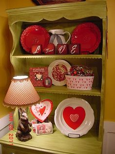 cute Valentine's display