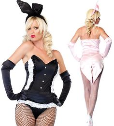 Fancy Pink Bunny Costumes $36.99