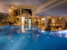 Amazing indoor pool......... Home would definitely be where the heart is lol.. Incredible