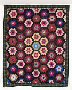 Q6832 Silk Center Medallion Mosaic c. 1855